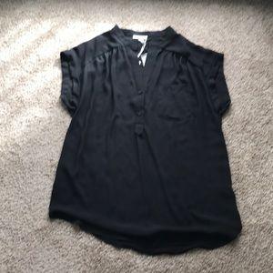 Pleione black blouse